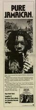 """1976 PETER TOSH """"LEGALIZE IT"""" ALBUM PROMO AD"""