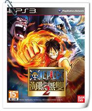 PS3 One Piece KAIZOKU MUSOU 2 PIRATE SONY NAMCO BANDAI Beat 'em Up Games