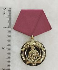 East Germany Fireman's Bravery Medal