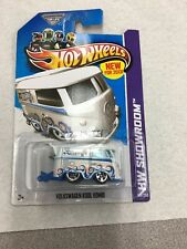 2013 Hot Wheels Showroom #169 Volkswagon Kool Kombi (White) w/ 5SP B11