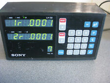 Sony Lh32 Magnescale 2-Axis Dro Digital Readout Display Lh32-2 Meter