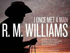 I ONCE MET A MAN - Places, People, Stories from the Road by R.M. Williams HBDJ
