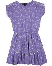 IMOGA Girl's Jersey Dress Liana in Paris Print, Sizes 6-14