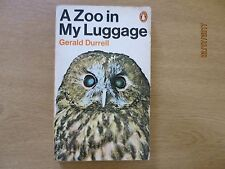 A Zoo in My Luggage paperback, 1960's, by Gerald Durrell