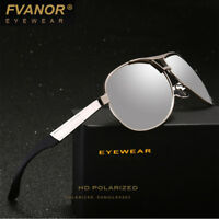 Mens Mirrored Driving Glasses Polarized Sunglasses UV400 Outdoor Sports Eyewear
