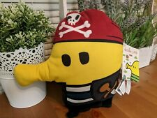 "New Doodle Jump Pirate Plush Toy Sega Europe Arcade Prize 9.5"" Game Character"