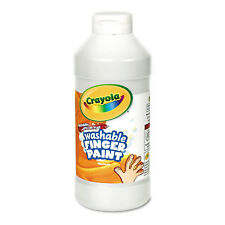 Crayola Washable Fingerpaint White 16 oz 551316053