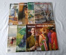 Lot 8 AMERICAN ART REVIEW Magazine Back Issues Art Painting Drawing 2004 - 2008