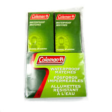 Coleman Waterproof Matches 829-205T Pack of 4 Boxes (160 Matches)