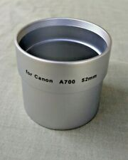 A700 A710 52mm Lens Adapter Tube for Canon Powershot