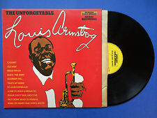 The Unforgetable Louis Armstrong, Stereo Gold Award MER-604 Ex Condition LP