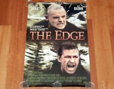 ORIGINAL MOVIE POSTER THE EDGE 1997 UNFOLDED DS STYLE A ONE SHEET HOPKINS
