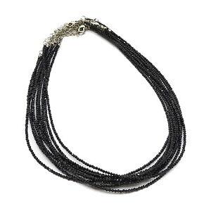 Jewelry Necklace  10 Set Black   410856