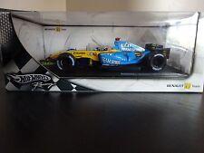 ** ** Hot Wheels Racing Renault F1 R25 1:18 Fernando Alonso ** en Caja **