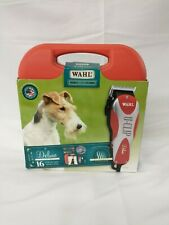 Wahl Professional Pet Groomer Kit Animal Dog Hair Trimmer Clippers Grooming 15pc