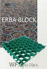 Grigliato salvaprato salvaverde in plastica carrabile ERBA BLOCK