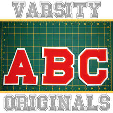 Chenille Varsity Letter Patches N-Z (12 Colors) School Letter Patch MADE IN USA.