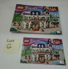 Lego Friends Heartlake Grand Hotel 41101 Instruction Booklet No Brick Only Paper