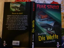 Die Wette Zu hoch gepokert! von R.L. Stine Fear Street Buch gebr.