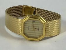 Swiss Concord Mariner 18k 750 Solid Yellow Gold Ladies Date Watch 56.6 gr