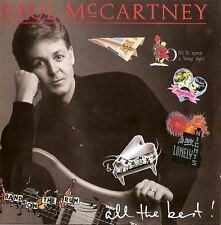 PAUL MCCARTNEY all the best (CD album) EX/EX CDP 7 48507 2 pop rock, soft rock