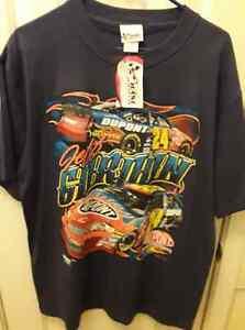 JEFF GORDON Vintage 2005 Mens Shirt Size L Nascar Chase Authentic NWT New Tag