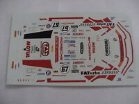 ancien decals decalcomanie porsche 911 gt2 n 67 lm le mans 1998 1/43