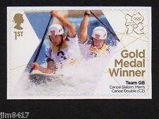2012 SG 3344 1st GB Olympic Gold Medal Winners - Baillie & Stott – Canoe
