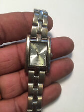 Lovely Ladies Silver Tone Cote D'Azur Analog Watch