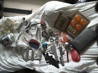 Assortment Of Harley Davidson Parts Lot - Softail Dyna Glide
