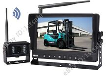"""9"""" DIGITAL WIRELESS MONITOR REAR VIEW BACKUP CAMERA SYSTEM FOR FORKLIFT"""