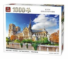 1000 Piece City Collection Jigsaw Puzzle - NOTRE DAME CATHEDRAL, FRANCE 05660