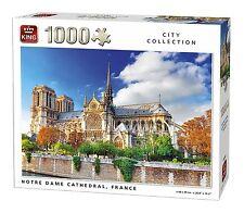 1000 pezzi Città Puzzle Collezione - Notre Dame cattedrale, Francia 05660