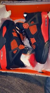 Size 8.5- Jordan 4 Black And Red Release Date 10-5-2021 I Have A 8 1/2 Right Now