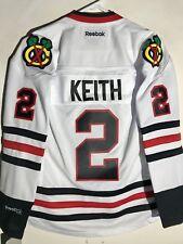 c3e0119c3 Reebok Women s Premier NHL Jersey Chicago Blackhawks Duncan Keith White sz  XL