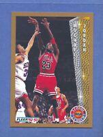 1992-93 Fleer Michael Jordan CHICAGO Bulls #238 Gem Mint Quality & Well Centered