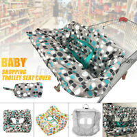 Child Baby Kid Shopping Trolley Cart Cover Seat High Chair Protective Pad