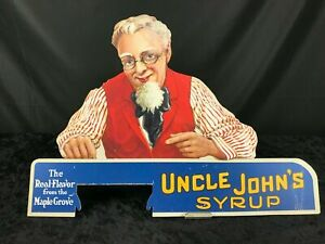 Vintage Uncle Johns Syrup Advertisement