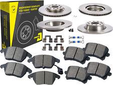 4 Bremsscheiben + Beläge Vorne & Hinten VW CC Passat Alltrack CC Kombi