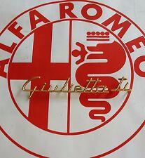 Logo Alfa Romeo Giulietta.