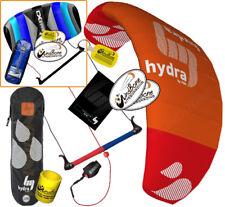 HQ4 HQ Hydra 300 3M Water Trainer Kite Kiteboarding Foil + 2nd Control Bar Kite