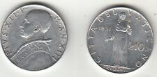 VATICANO LIRE 10 PAPA PIO XII  1951 ITALMA  BUSTO E PROVVIDENZE  OCCASIONE