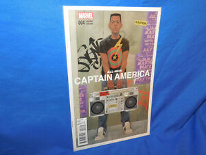 All New Captain America #4 Phil Noto Variant VF/NM Marvel Comics