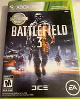 Xbox 360 Battlefield 3 Two Discs - Disc 1 and 2 - CIB Complete - Tested Working