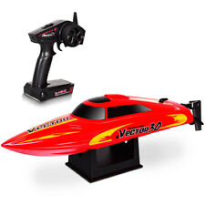 Vector 30 2.4G RC Racing Boat Brushed RTR High Speed Racer Auto-roll-back Red