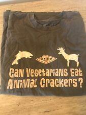 Vintage Foxwotthy Redneck Wear Size L Short Sleeve Shirt