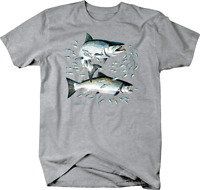 Trout Fish Ocean Swimming All Together Custom Tshirt