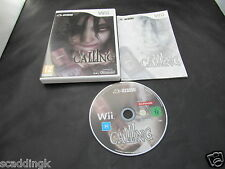 Nintendo Wii Game Calling Boxed with Manual