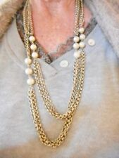 Authentic Vintage 1930's GERMANY Double Strand Faux Pearl Necklace