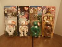 Set of Four 1999 Ty Ronald McDonald House Charities Beanie Baby Bears